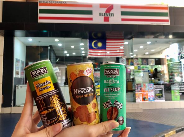 Limited Edition Coffees at 7-Eleven, 7-Eleven Malaysia, Wonda Barista Pit Stop, Wonda Masala Milk Coffee, Nescafe Gula Melaka, Food