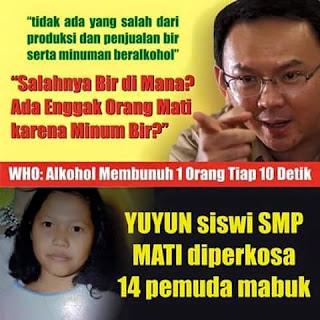 Indonesia akan Jadi Surga Para Pemerkosa Jika Miras Dilegalkan.