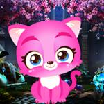Palani Games - Palani Graceful Pink Cat Escape Game