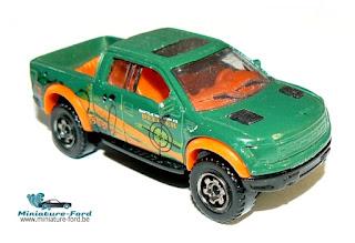 Matchbox, Ford F-150 8VT Raptor-2010