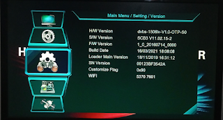 1506lv Sim Type New Software With IMEI, Ecast, Youtube & IPTV
