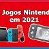 10 Jogos Nintendo Switch a Ter em Conta em 2021