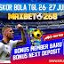 Hasil Pertandingan Sepakbola Tanggal 26 - 27 Juli 2020