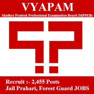 Madhya Pradesh Professional Examination Board, MPPEB, VYAPAM, freejobalert, Sarkari Naukri, VYAPAM Answer Key, Answer Key, vyapam logo