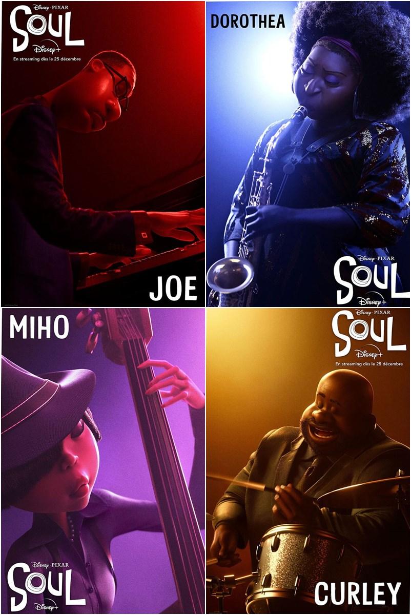 Soul filme animação Disney - Pixar 2020
