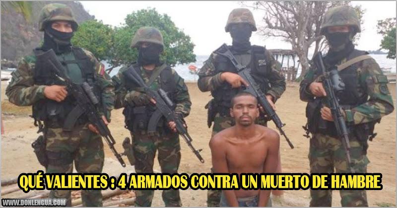"""Régimen de Maduro captura a supuesto """"Mercenario"""" más flaco que Cachirulo"""