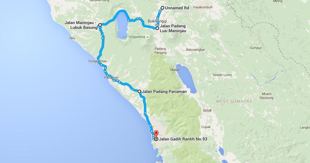 Saya Amp Keluarga Perjalanan Bukitting Padang Via Danau
