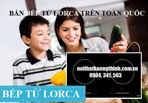 bếp từ Lorca có nhiều model khác nhau