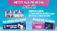 Logo ''Mettiti alla prova con Actimel'' e vinci 238 Polaroid Snap Touch e 17 PlayStation 4 Pro