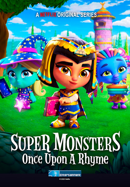 Super Monsters Once Upon a Rhyme 2021 Dual Audio Hindi Dubbed 720p