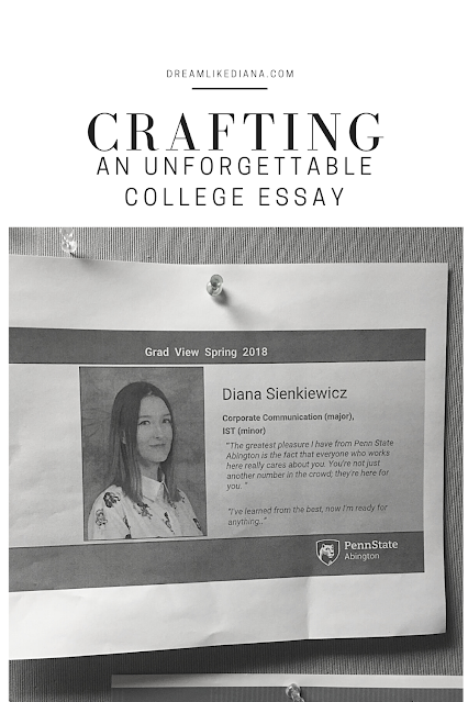 pinterest pin crafting an unforgettable essay
