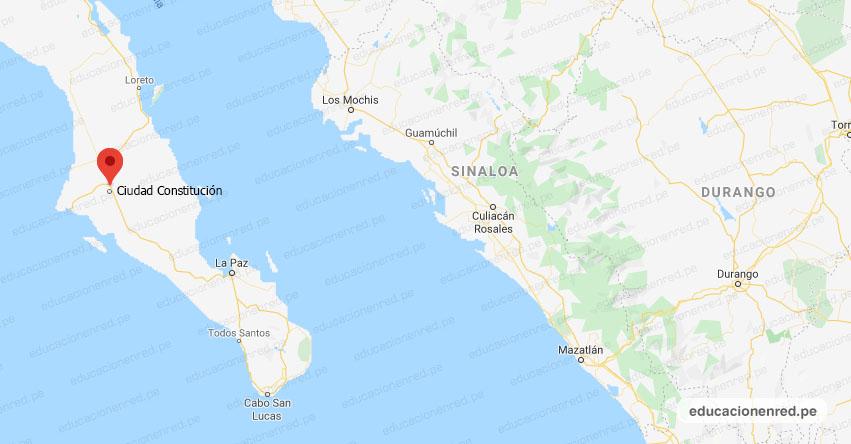 Temblor en México de Magnitud 4.4 (Hoy Miércoles 29 Julio 2020) Sismo - Epicentro - Ciudad Constitución - Baja California Sur - B.C.S. - SSN - www.ssn.unam.mx