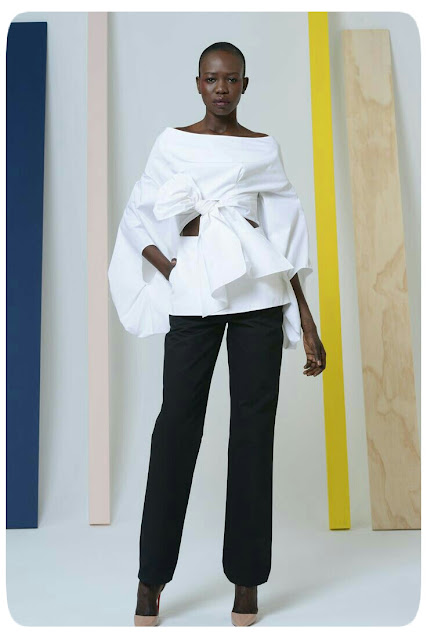 Rosie Assoulin Fall 2014 White Shirt