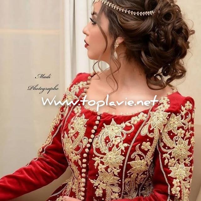 اجدد موديلات كاراكو الجزائري لسنة  2021- ملابس تصديرة العروس