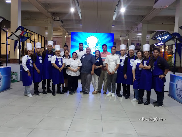 Soalne Kitchen Hero Chefs' Edition NCR Leg Participants with Judges