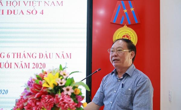 Pho Tong Giam doc BHXH Viet Nam Nguyen Dinh Khuong du va chi dao Hoi nghi