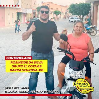 Venda Premiada: veja alguns dos contemplados com moto 0km no sorteio de setembro