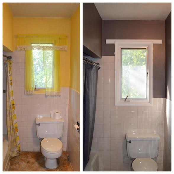 Before & After Photos of Our Home
