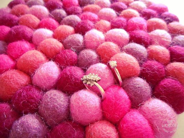 różowe kuleczki