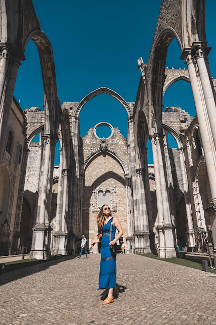 Alicia Mara at The Carmo Archaeological Museum Lisbon | Tips and Tricks