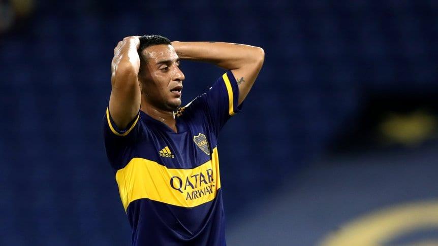 """El """"Pulpo"""" González tiene una contractura y se entrenó diferenciado en Boca"""