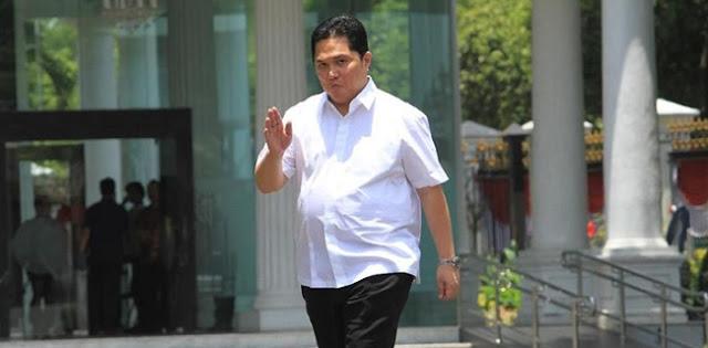 Pidato Perdana Menteri BUMN Erick Thohir: Tidak Ada Titip-titipan