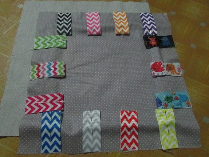 DIY Taggies Blanket