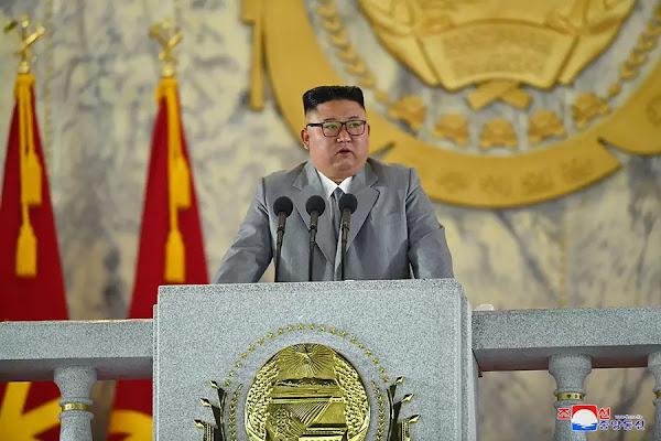 Kim Jong Un at Military Parade Speech, October 10, 2020