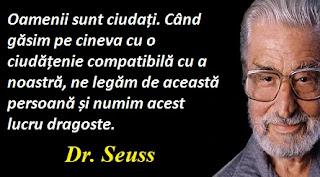 Citatul zilei: 2 martie - Dr. Seuss