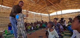 حياة جديدة في مخيم أم رقوبة في السودان مع توافد الفارين من إثيوبيا