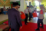 Polisi Sahabat Santri Kunjungi Pondok Pesantren Daar El-Qolam Gintung Kecamatan Jayanti Tangerang