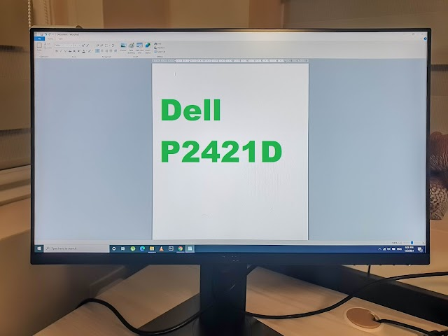 Dell P2421D monitor - the one to buy in 2021