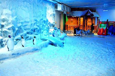 Snow World in Mumbai