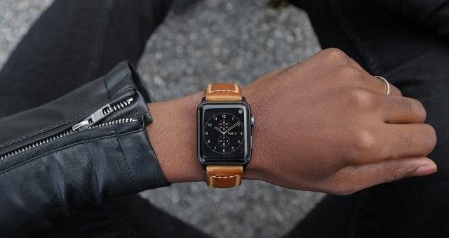 apple watch leather wrap band custom strap