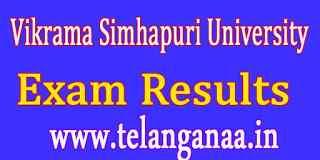 Vikrama Simhapuri University B.Tech  Exam Results