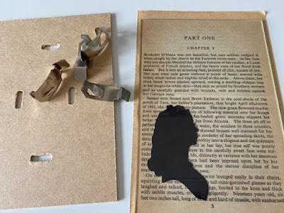 Gone with the Wind book crafts tutorials