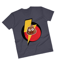https://clownsick.com/collections/smart-collection-1/products/lightningpoo-v-neck-t-shirt