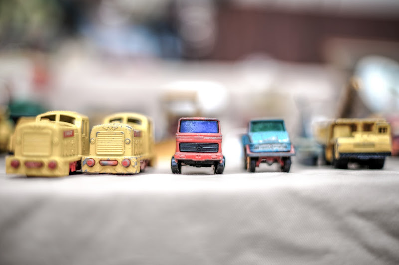 Vehicle miniatures are the favorites not only of children but also of many adults