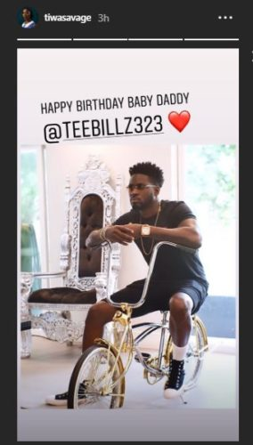 Tiwa Savage Sends Lovely Message To Ex-Husband, TeeBillz On His Birthday