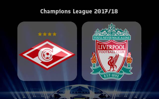 Assistir Liverpool x Spartak Moscou grátis em HD ao vivo 06/12/2017