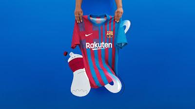Gambar dan Harga Jersi Baru Barcelona 2021/2022