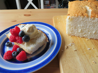 Small Batch Angel Food Cake