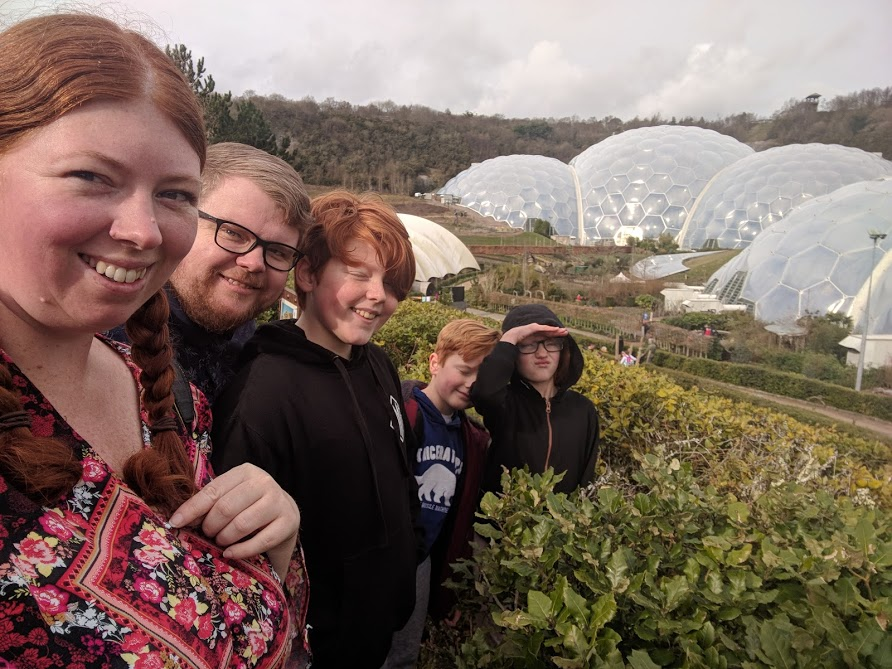 Waterside Cornwall Review | Self-Catering Lodges Near The Eden Project - eden project selfie