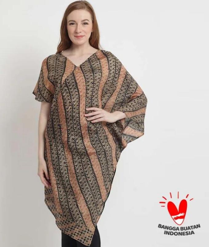 Model Baju Batik Wanita Yang Kekinian
