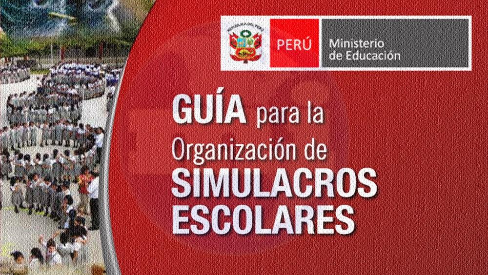 Guía para la Organización de Simulacros Escolares