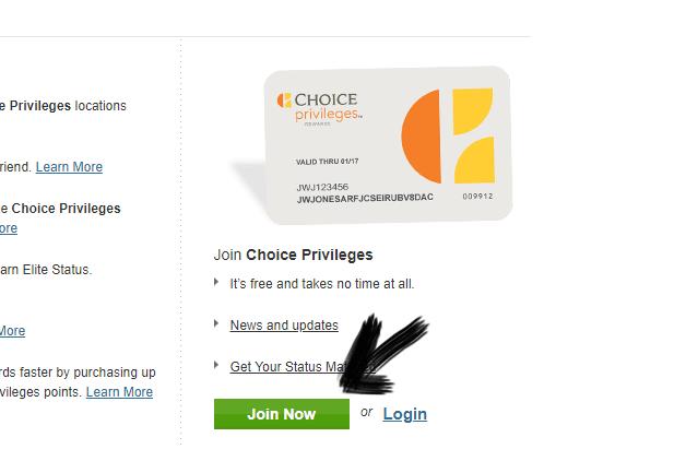 اثبات وصول بطاقة Choice Hotels مع طريقة الحصول عليها مجانا الى باب بيتك
