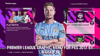 PL GRAPHIC MENU FOR PES 2017 BY WAHAB JR