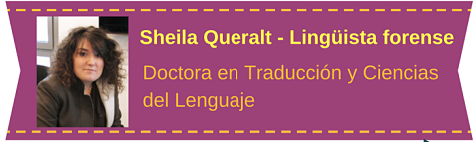 MobbingMadrid Dra. Sheila Queralt Perito Lingüista Forense Colaboradora de PRIDICAM