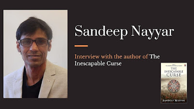 Author Interview: Sandeep Nayyar
