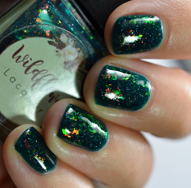 Wildflower Lacquer Eel With It swatch